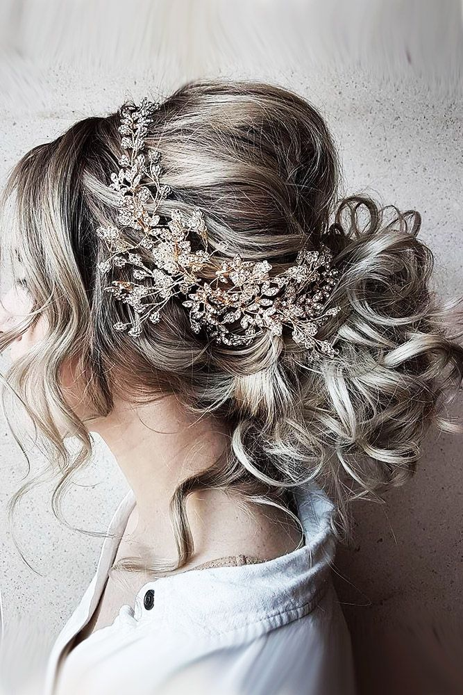 30 Perfect Bridal Hairstyles For Big Day Party ❤ bridal hairstyles grey hair w...