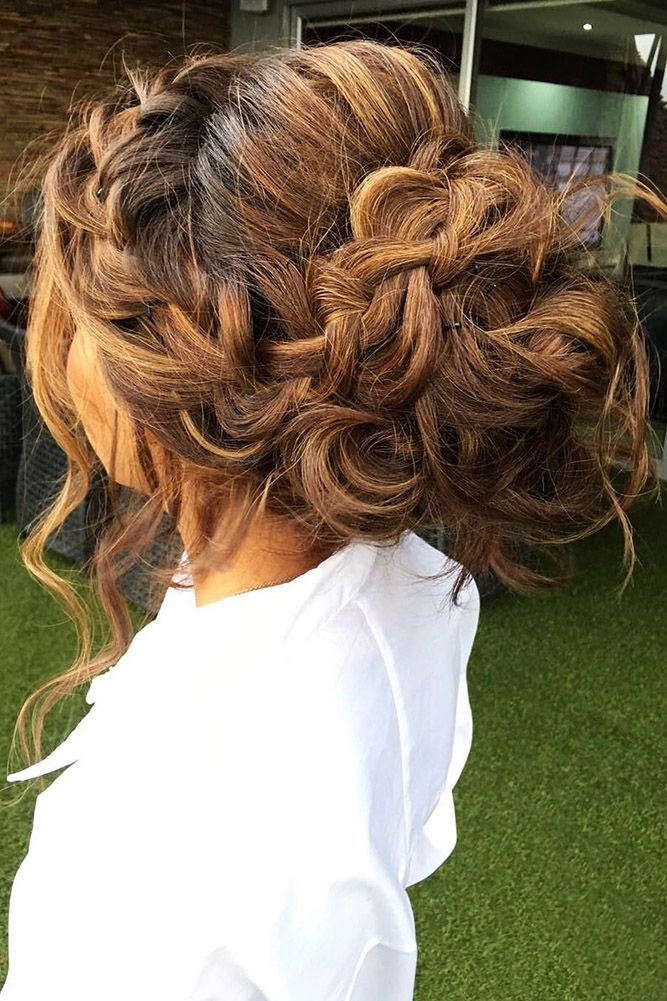 30 Perfect Bridal Hairstyles For Big Day Party ❤ bridal hairstyles volume brai...