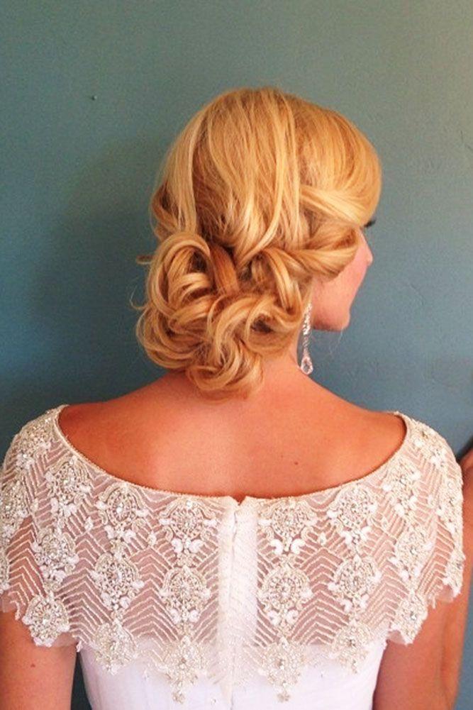 30 Stunning Wedding Hairstyles ❤ wedding hairstyles vintage blond hair jesswil...
