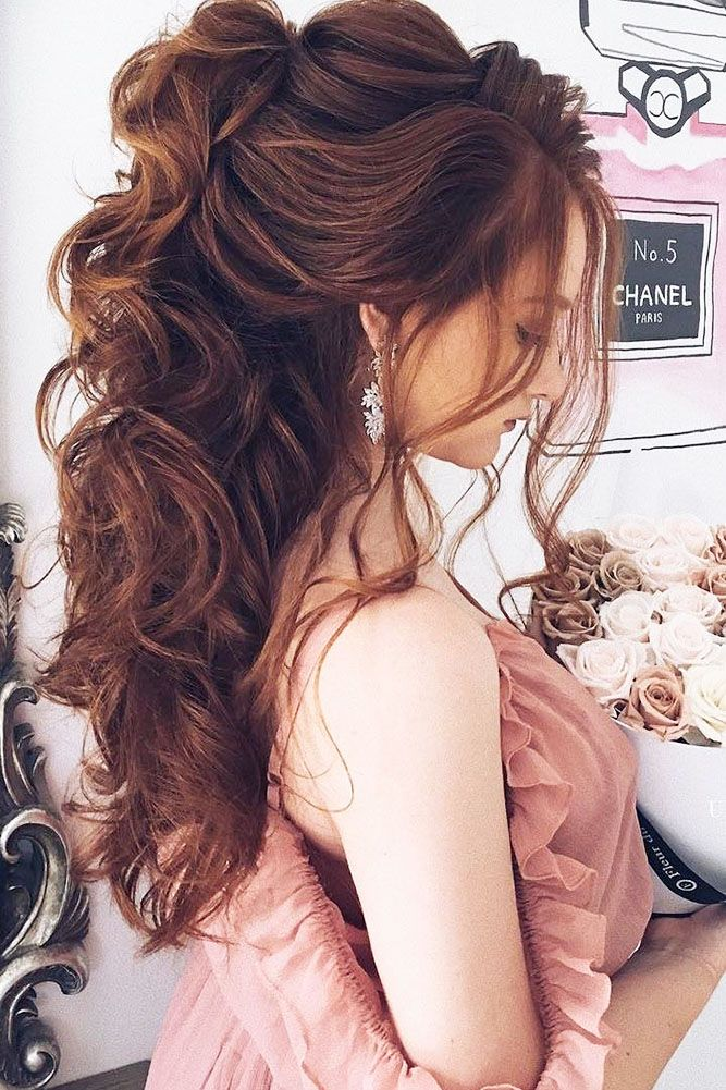 30 Wedding Hairstyles For Long Hair From Ulyana Aster ❤ See more: www.weddingf...