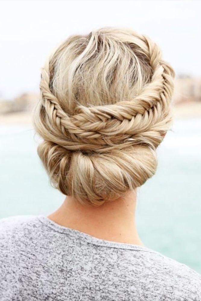 33 Overwhelming Boho Wedding Hairstyles ❤ boho wedding hairstyles bohemian bra...