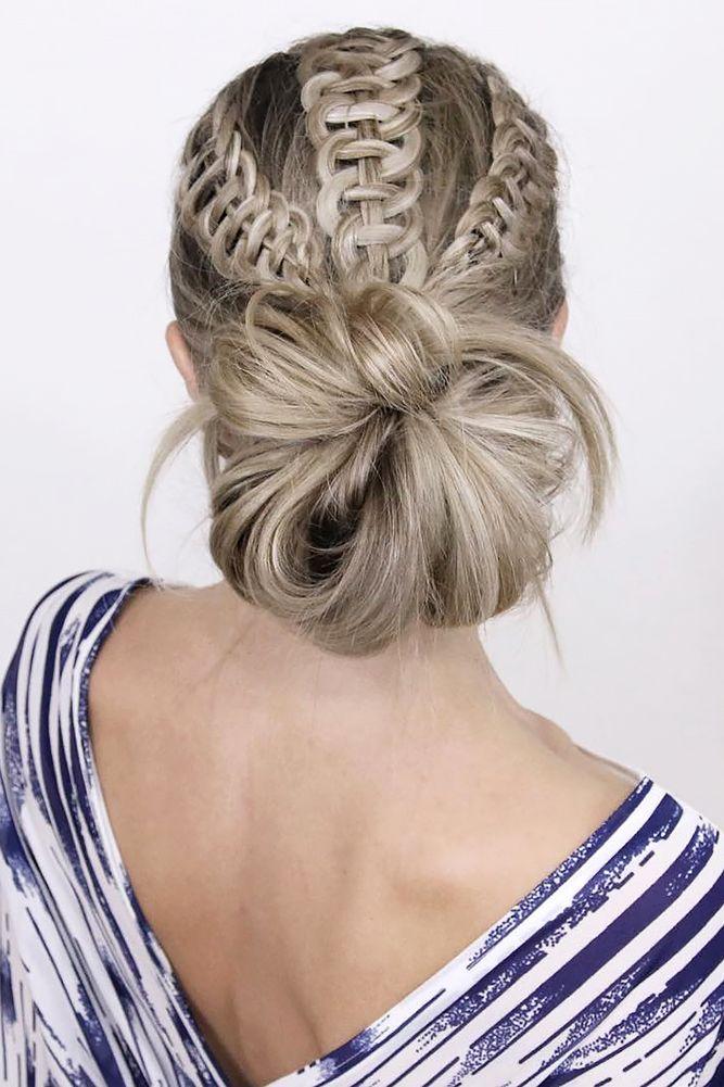 36 Boho Inspired Creative And Unique Wedding Hairstyles ❤ creative unique wedd...