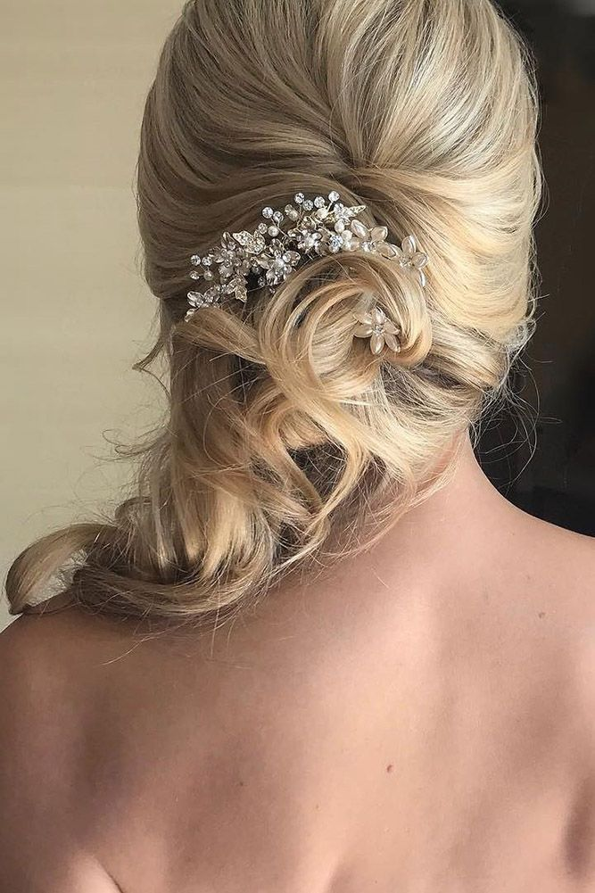 42 Mother Of The Bride Hairstyles ❤ mother of the bride hairstyles curly side ...