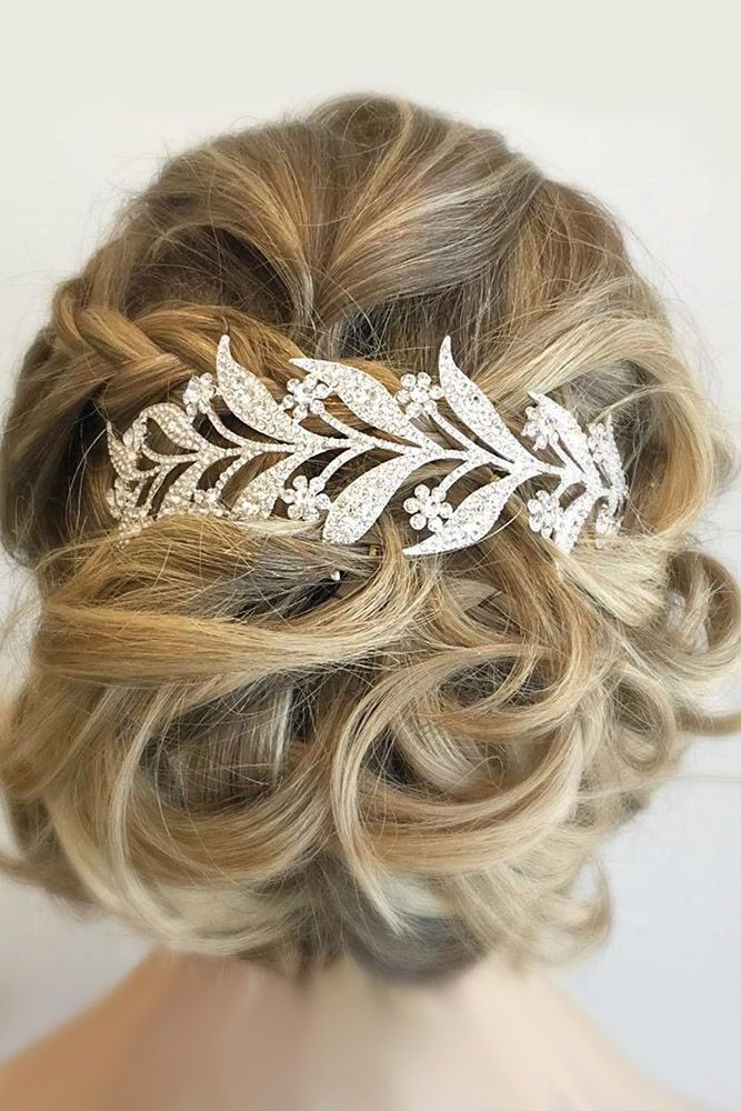42 Mother Of The Bride Hairstyles ❤ mother of the bride hairstyles curly updo ...