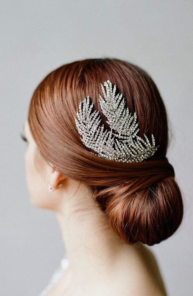 Bridal Headpiece, Feather Headpiece