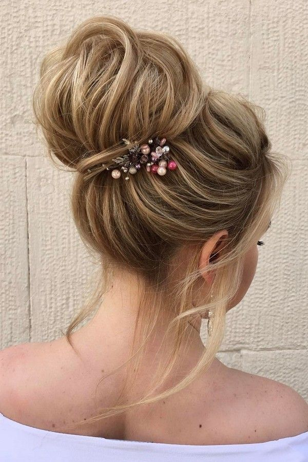 Elstiles Long Wedding Updo Hairstyles / www.deerpearlflow...