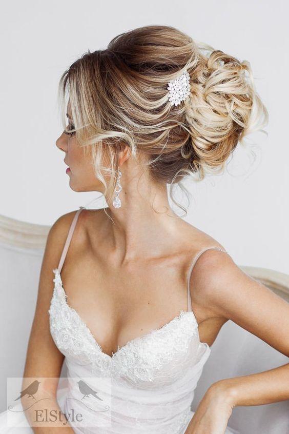 20 Prettiest Wedding Hairstyles and Wedding Updos   www.deerpearlflow...