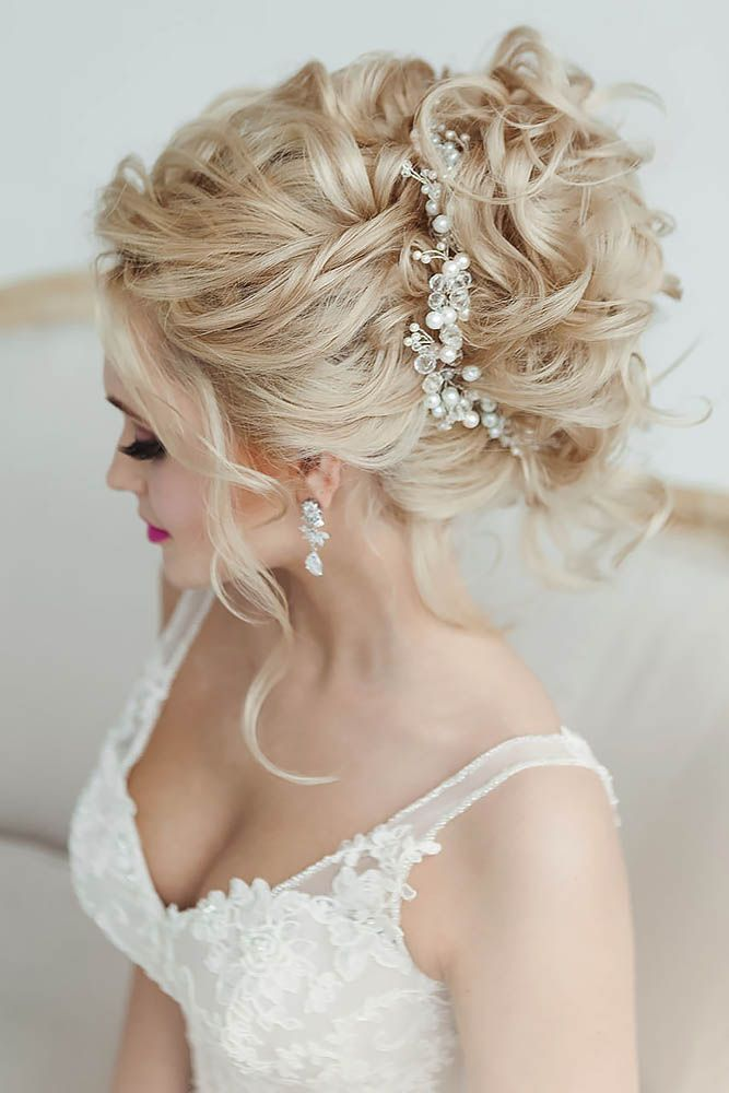 24 Gorgeous Wedding Bun Hairstyles ❤ See more: www.weddingforwar... #weddings ...