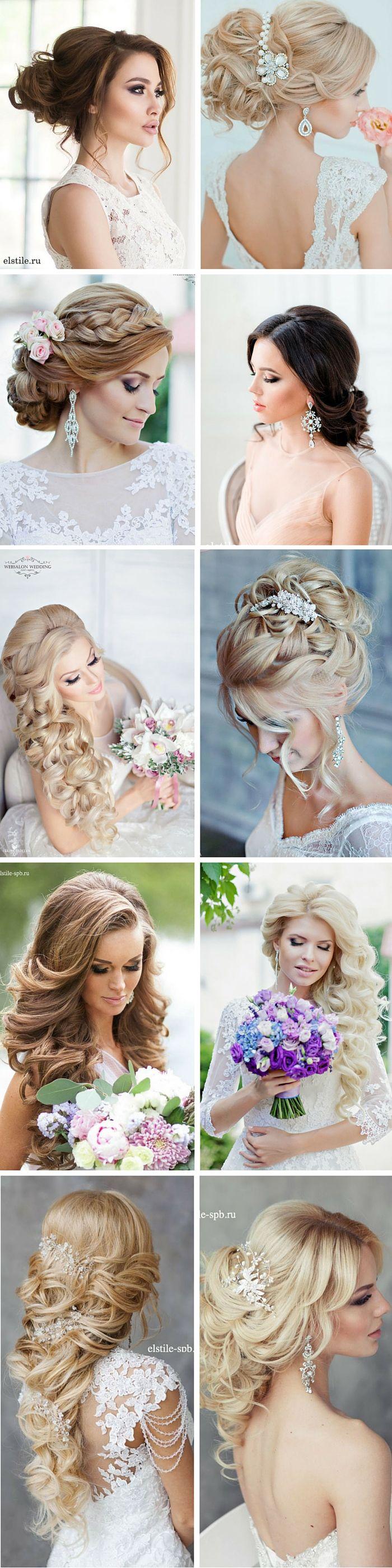 27 Stunning Summer Wedding Hairstyles ❤ Summer wedding hairstyles are differen...