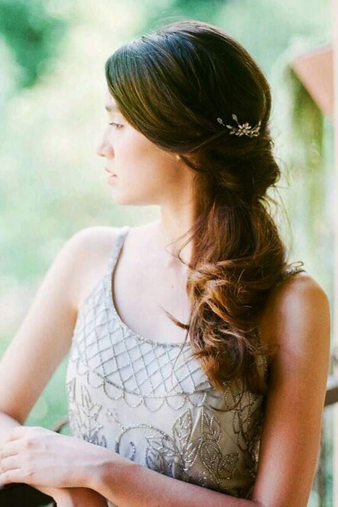 Bridal Hairstyles Inspiration 30 Captivating Wedding Hairstyles For Medium Length Hair Wedding Hairstyles Beauty Haircut Home Of Hairstyle Ideas Inspiration Hair Colours Haircuts Trends