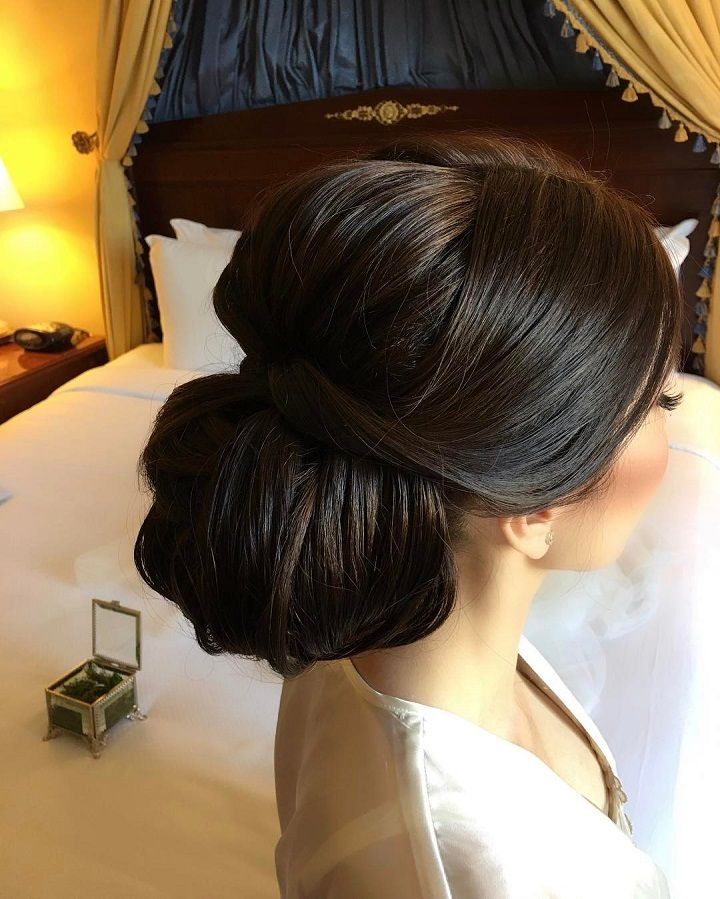 Beautiful & elegant Updo Bridal hairstyle to inspire you - This stunning wedding...