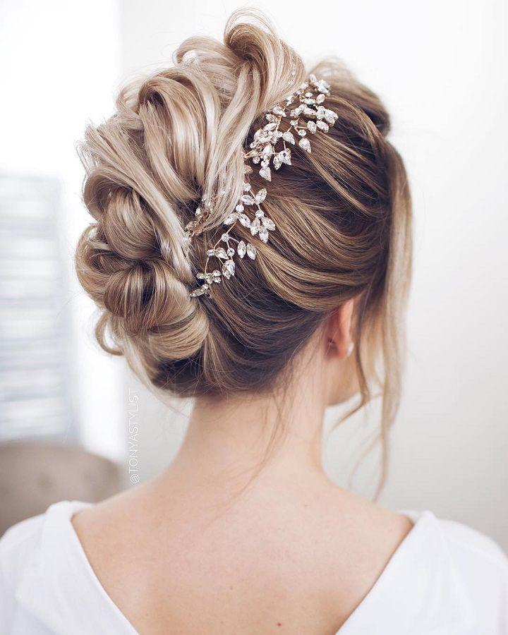 Bridal updo wedding hairstyle inspiration,Bridal updo,wedding hairstyle inspirat...