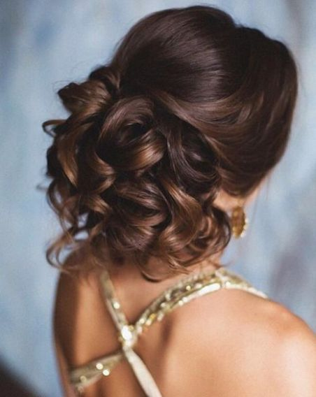 bride or bridesmaid hairstyle idea