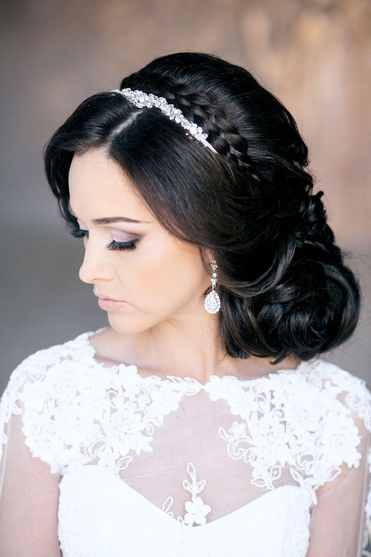 Elegant Low Updo | Feminine Bridal Hair www.pinterest.com...