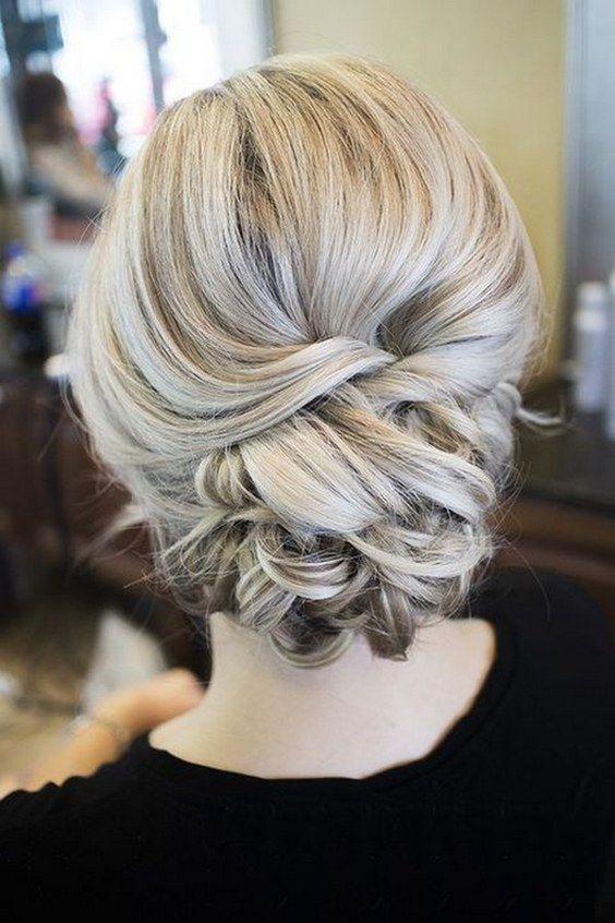 Bridal Hairstyles Inspiration Elegant Updo Wedding