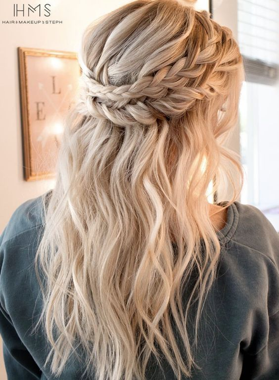 Featured Hairstyle: Hair and Makeup by Steph (Stephanie Brinkerhoff);www.haira...