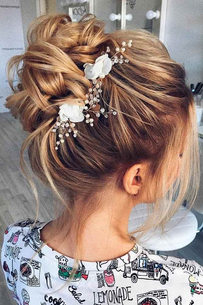 Gorgeous Wedding Hairstyles for Medium Hair ★ See more: lovehairstyles.co...