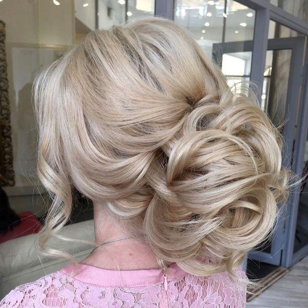 Long wedding updos and hairstyles from Elstile / www.deerpearlflow...