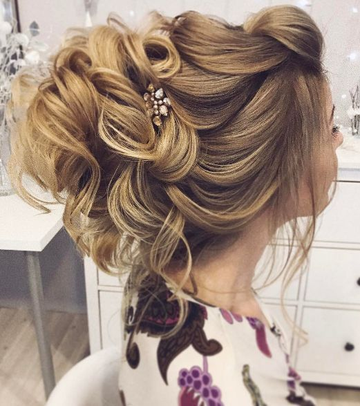 Wedding Hairstyle   : Featured Hairstyle: tonyastylist (Tonya Pushkareva) ift.tt...