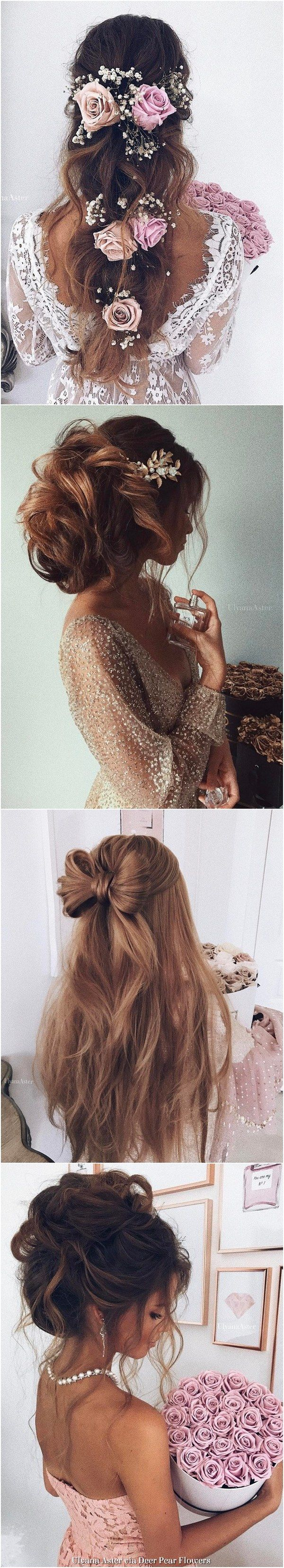 Ulyana Aster Wedding Hairstyles Inspiration - www.ulyanaaster.com | Deer Pearl F...