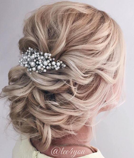wedding hair updos for elegant brides / www.himisspuff.co...