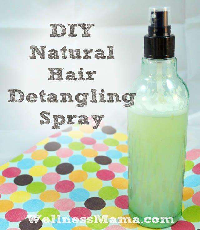 DIY Hair Detangling Spray