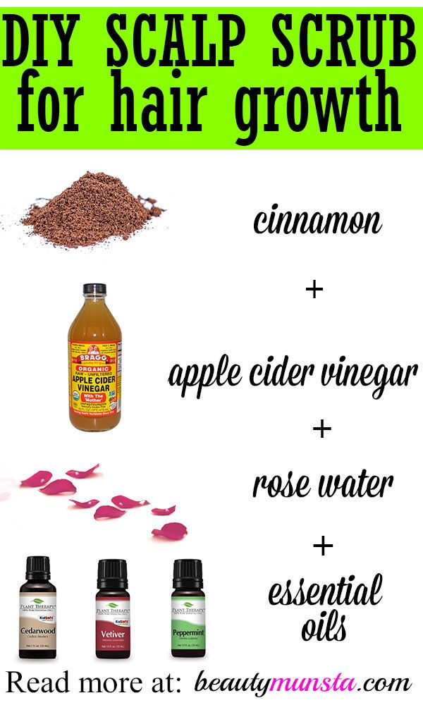 Having trouble with thinning hair? You need to try out this easy DIY scalp scrub...