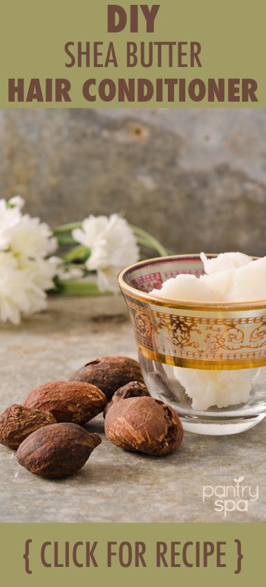 Making your own hair conditioner is easy. All it takes is shea butter, essential...
