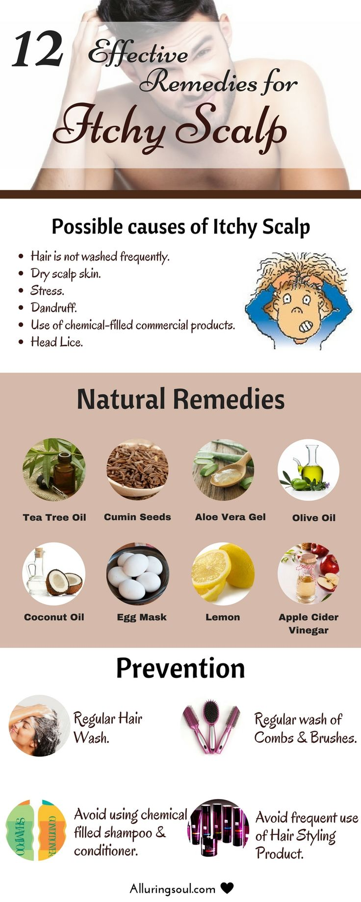 Remedies for itchy scalp - Itchy scalp can be embarrassing and frustrating becau...