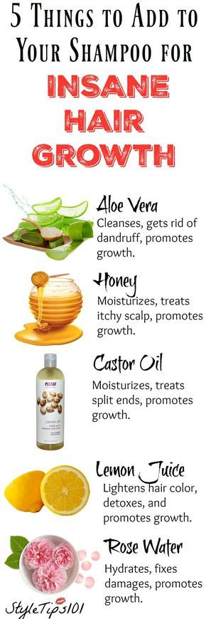 Adding any one of these 5 ingredients to your shampoo bottle will ensure fast gr...