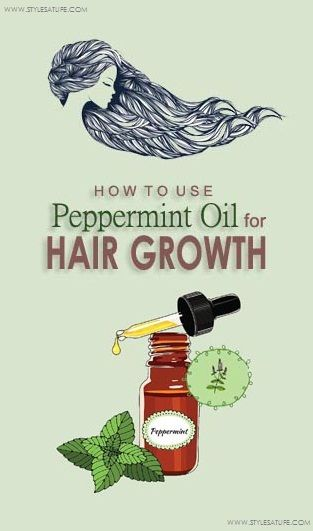 Are you crazy for long hairs? Do you know that peppermint oil helps in hair grow...