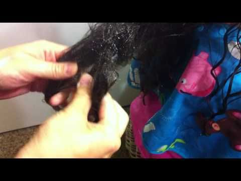 Biracial Hair Care 101: How to get knots out of VERY tangled biracial hair - You...