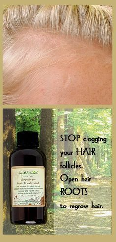Changing to natuhral hair care products can have a noticeable improvement on you...