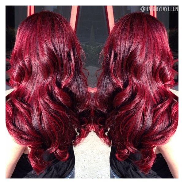 Curly red hair ❤ liked on Polyvore featuring beauty products, haircare, hair s...