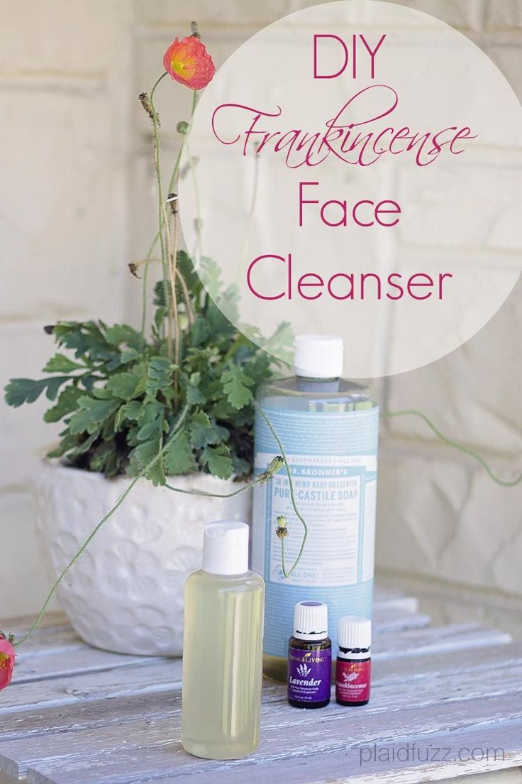 DIY Facial Cleanser with frankincense essential oil | Kim Ayres #1529959 | www.b...