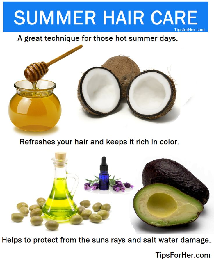 DIY Recipe~Keep your hair color rich and lustrous while protecting your hair fro...