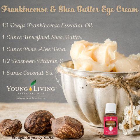 DIY Shea Butter & Frankincense Eye Cream - Karen Renee Knowles
