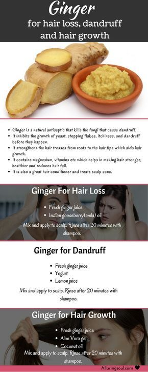 ginger for hair - Ginger for hair is highly recommended to use for hair growth, ...