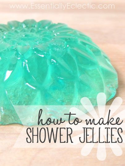 How to Make Shower Jellies | www.EssentiallyEc... | These shower jellies are ama...