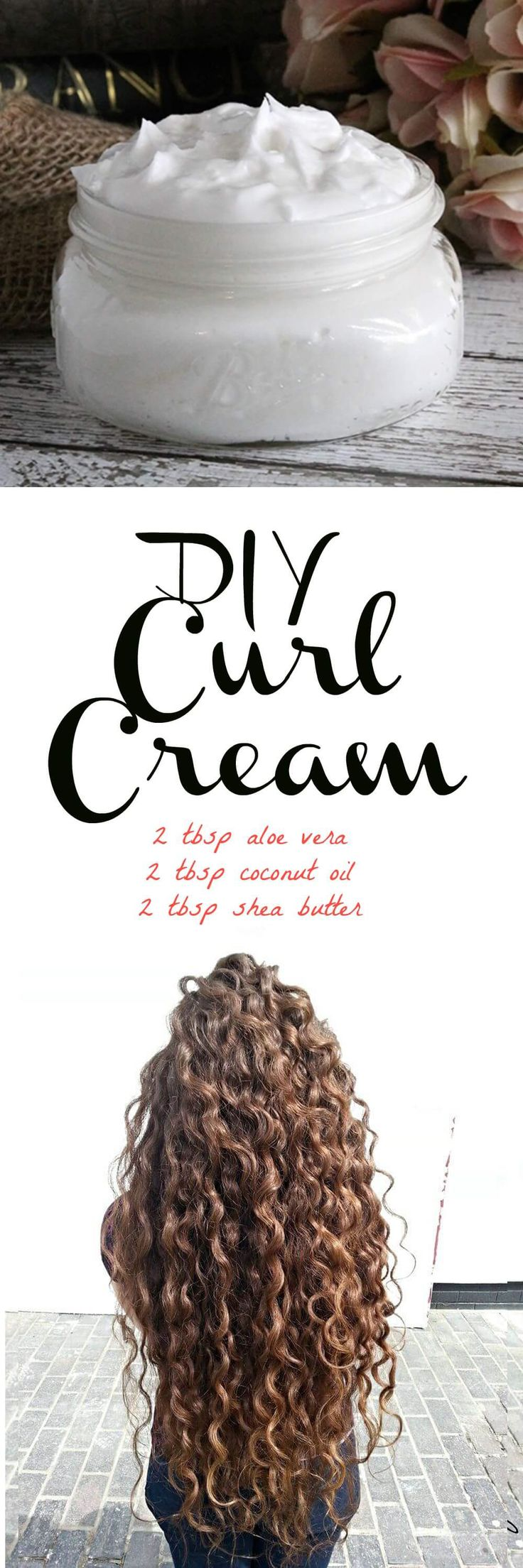 If you have curly or wavy hair, this DIY curl cream recipe will be right up your...
