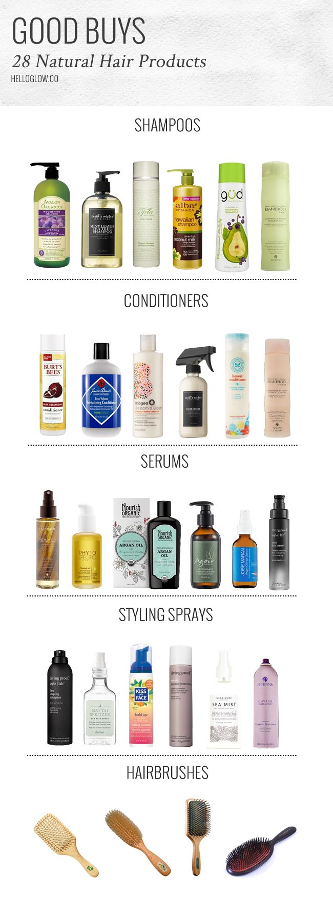 Keep your hair shiny and healthy the natural way with this guide to the best nat...