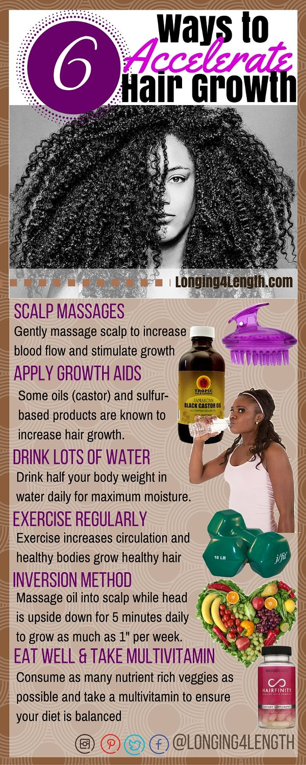 #L4LHair Tip Tuesday - Ways to Accelerate Hair Growth for Natural Hair, How to I...