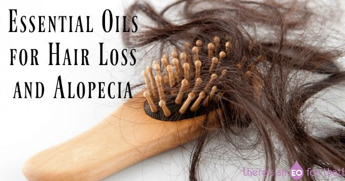Learn about the best essential oils for hair loss/alopecia and how to make a hai...