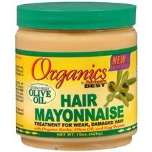 Organics Africa's Best Hair Mayonnaise. The