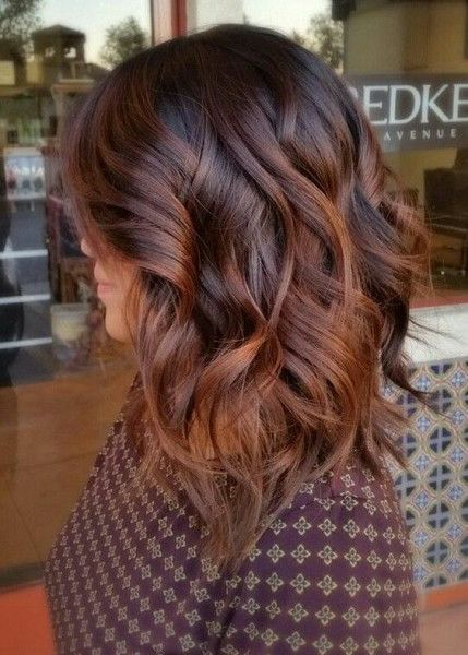 Reddish Brown Tints - The Top Hair Color Trend of 2017 is Hygge, According to Pi...