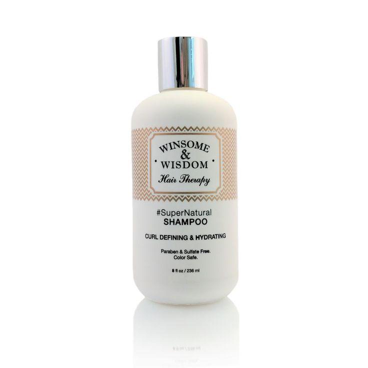 #SuperNatural - 8 oz - Moisturizing Shampoo For Curly Hair