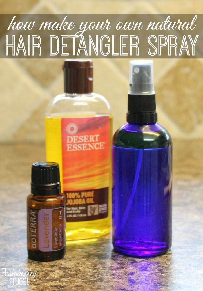 Water, jojoba oil and Lavender essential oil, that's it! Those are the only th...