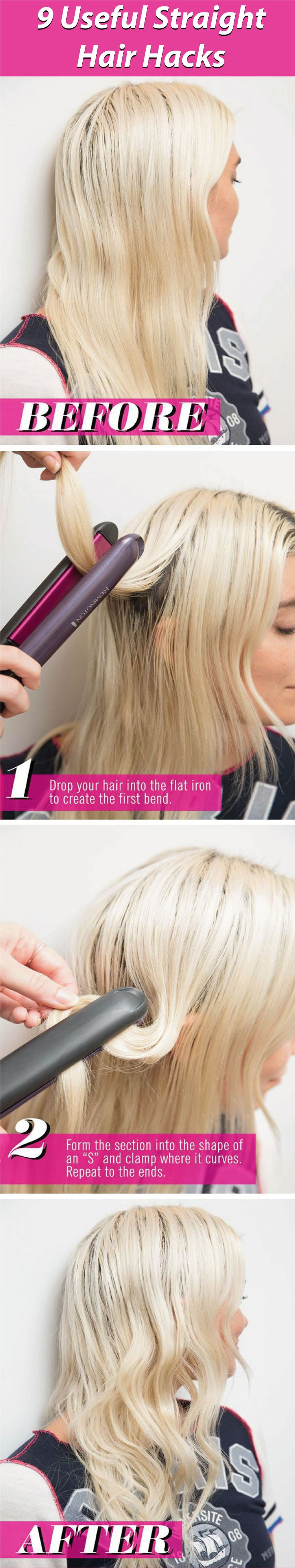 Having nice and straight hair? Need tips and tricks, here we come with a  9 usef...