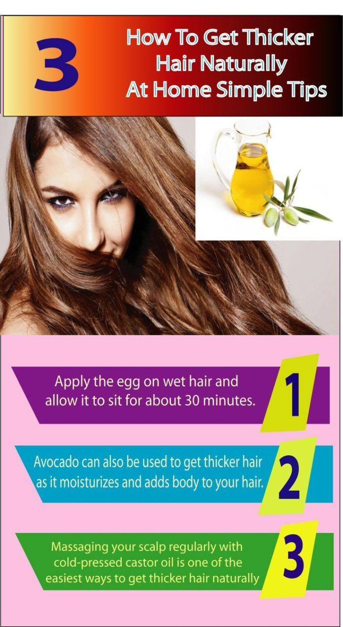 Natural Ways To Make Your Hair Thicker And Fuller