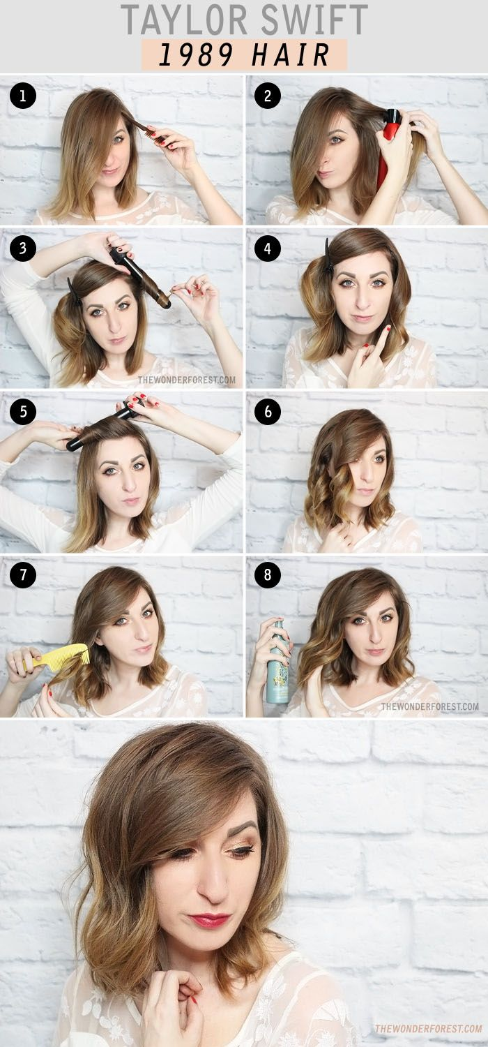 A sweet hairstyle for that Taylor Swift look #hair